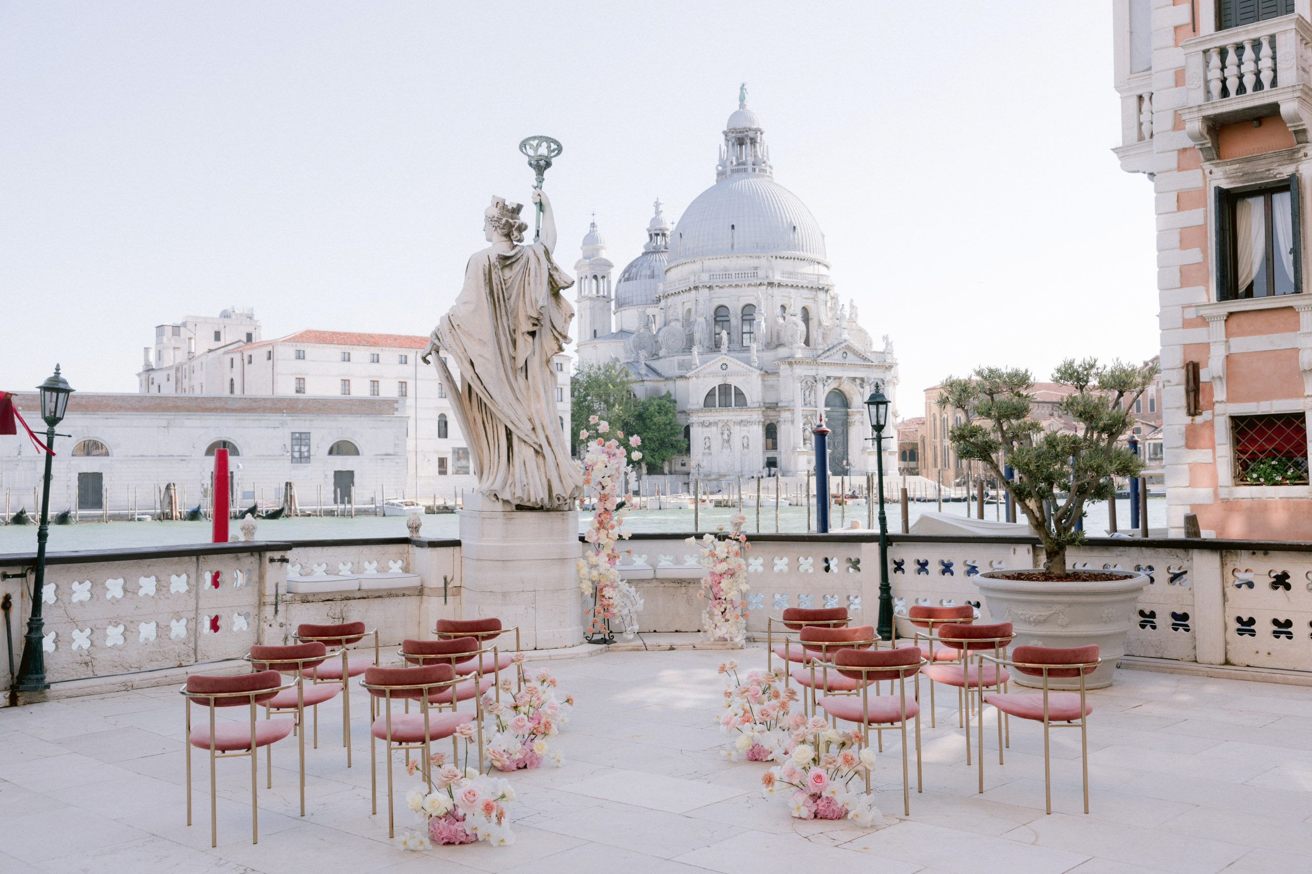 stunning wedding venue view canals of Venice wedding Italy